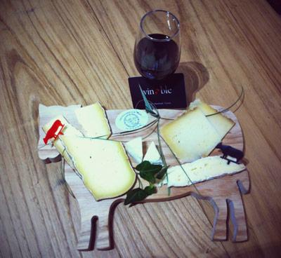 plateau fromage verre vin halles limoges