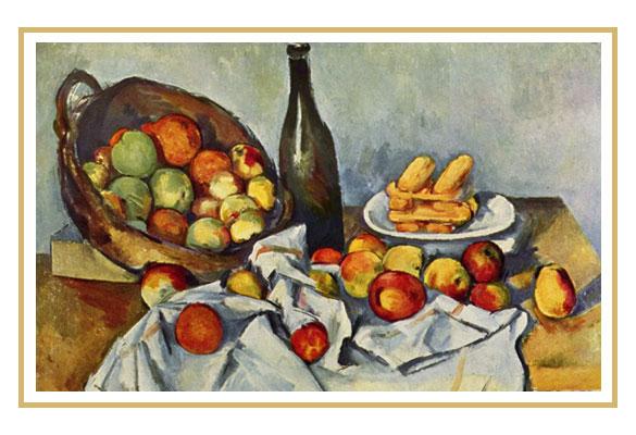 panier-pommes-cezanne-bouteille-vin