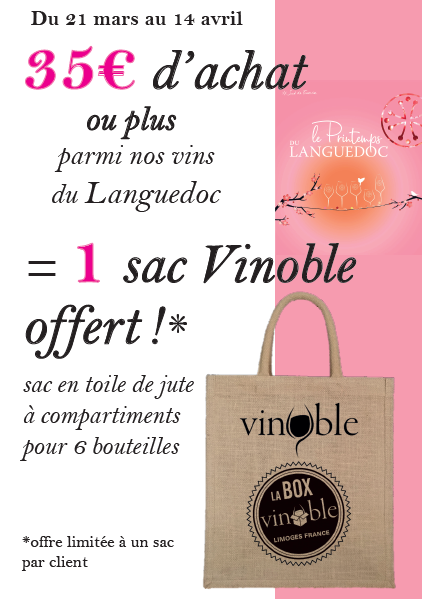 offre sac Vinoble